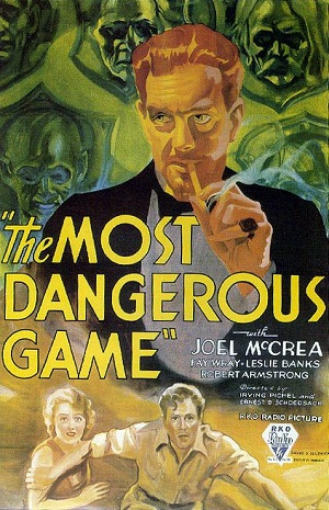 Title page of The Most Dangerous Game
