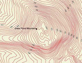 Topographic Map Mountain.How To Read Topographic And Geologic Maps Video Lesson