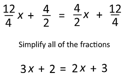 How To Solve Multi Step Equations With Fractions Decimals Video