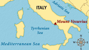 Mount Vesuvius: Facts, Eruptions & History | Study.com