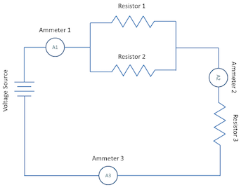 multiple ammeter series what is an ammeter? definition & function video & lesson ammeter circuit diagram at honlapkeszites.co