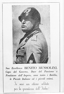 a biography of benito mussolini an italian fascist leader