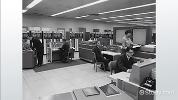 What is a Mainframe System? - Video & Lesson Transcript