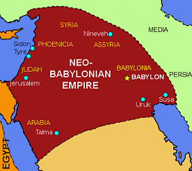 Neo Babylonian Empire Achievements Map Study Com