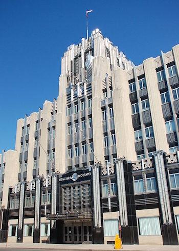 Niagara Mohawk Building In Syracuse
