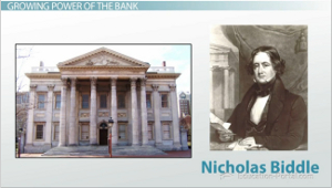 Jacksonian America Bank Of The United States And The Panic Of 1837 Video Lesson Transcript Study Com
