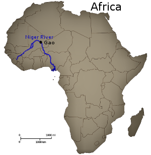 Songhai Africa Map.Sonni Ali Founder Of The Songhai Empire Biography
