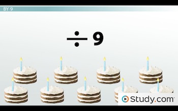 image of nine cakes with one candle each