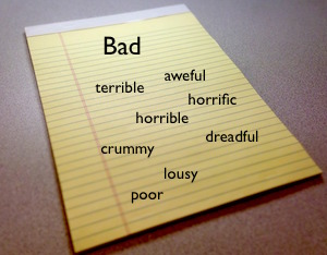 Synonyms for Bad