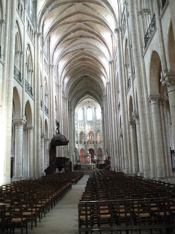Interior Of Notre Dame Noyon