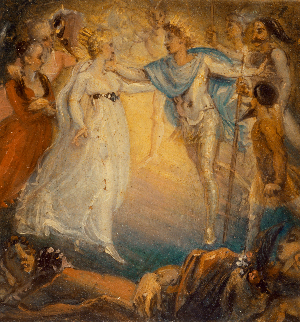 King Oberon and Queen Titania