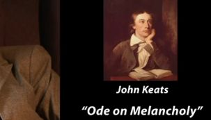 a literary analysis of ode on melancholy by john keats Keats' great odes and the sublime john keats when john keats died as in the ``ode on indolence'' and the ``ode on melancholy,'' or the agonizing pathos of.