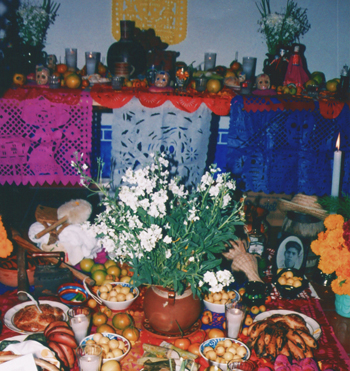 Example of an ofrenda
