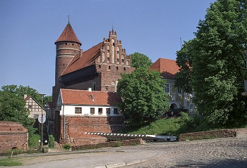 Olsztyn Castle In Poland