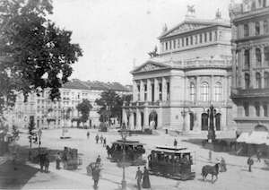 Photo of Vienna Opera House 1880