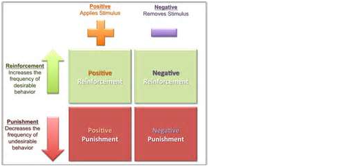 operant conditioning graphic