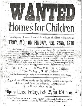 Poster for orphans