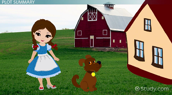 the wonderful wizard of oz by l frank baum summary characters  dorothy and toto