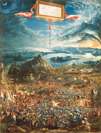 The Battle of Alexander at Issus by Altdorfer