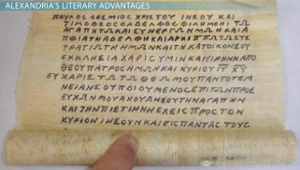 Papyrus Writing