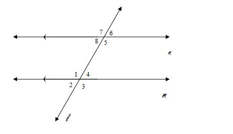Corresponding Angles Are Formed When A Transversal Passes Through Two Lines.  The Angles That Are Formed In The Same Position, In Terms Of The Transversal,  ...