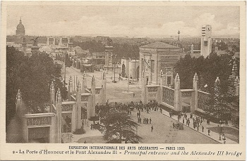 The 1925 exhibition in Paris