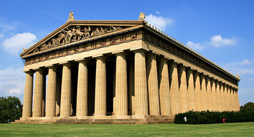 Parthenon Replica In Nashville TN