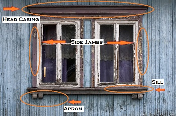 Exceptional Window With Trim Labeled