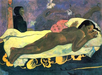Gauguin The Spirit of the Dead Keeps Watch