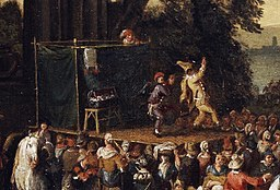 Painting of Commedia dell