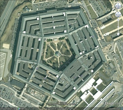 US Dept of Defense Headquarters (The Pentagon)