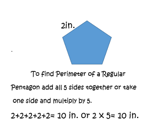 How to find the perimeter of a regular pentagon video lesson perimeter of a regular pentagon ccuart Image collections