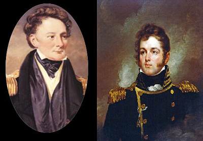 Oliver Hazard Perry and Robert Barclay
