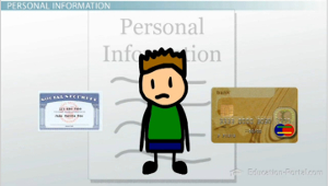 Personal Info Examples