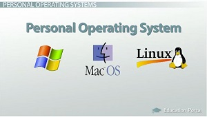 Personal Operating Systems Examples