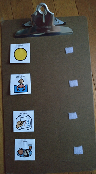 visual schedule template for students with special needs study com