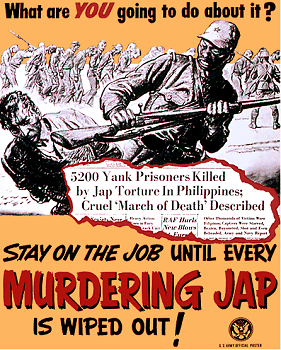 Anti-Japanese Propaganda & Poster During World War II