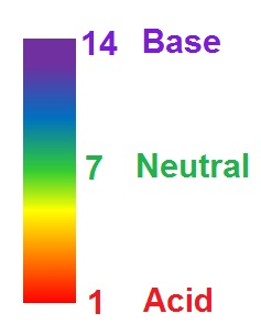 how to tell if a solution is acidic