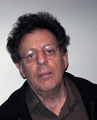 Philip Glass by AxelBoldt
