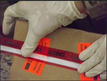 evidence tape