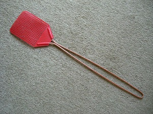 A fly swatter