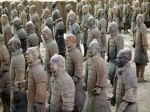 describe the terracotta warriors