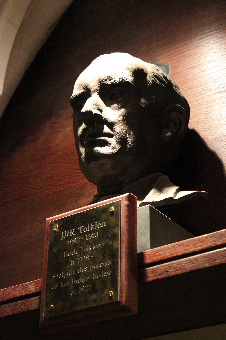 Bust of Tolkien