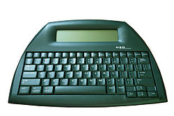 Picture of an Alphasmart Neo