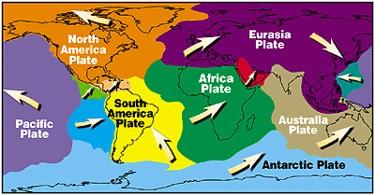 Worksheet Tectonic Plates Worksheets For Kids theory of tectonic plates lesson for kids study com earth