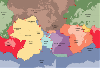 Plate Tectonics Theory For Kids