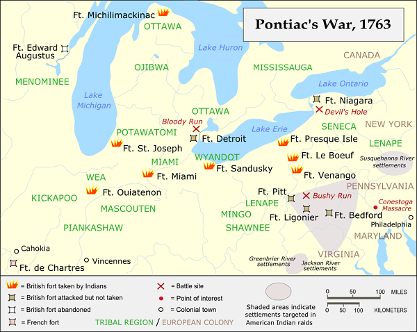 Pontiac map