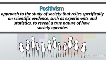 Positivism in Sociology: Definition, Theory & Examples