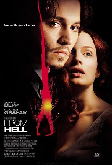 Poster for film adaptation of __From Hell__
