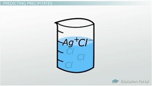 Precipitate Formation Example